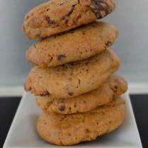 Cookies chocolat/praliné