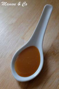 Sauce caramel beurre salé