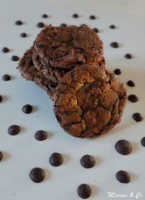 Brownie cookies pur chocolat