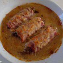 Cannelloni d'endives aux jambon