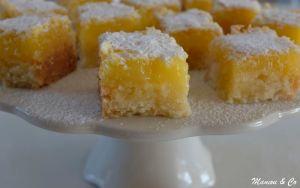 Bouchées au citron