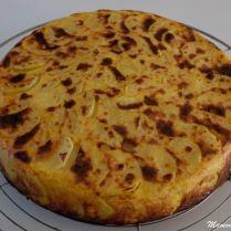 Gâteau de pommes de terre au curry