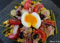 Salade niçoise en chaud/froid
