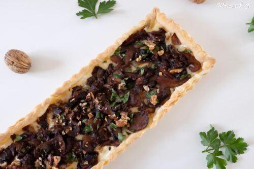 tarte fine aux champignons et gorgonzola_4