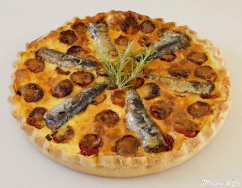 quiche aux sardines et aux tomates cerises rôties_3