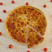 tarte au pesto et aux tomates cerises_4