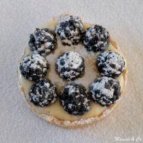 Tartelettes de mûres et crème chiboust à la bretonne