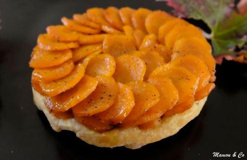 tatin de carottes à l'orientale_4