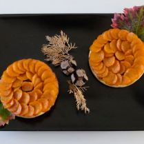 Tatin de carottes à l'orientale