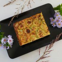 Gâteau invisible courgettes-pommes de terre à l'indienne