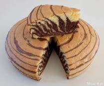 Zebra cake, le retour... en version plus light !