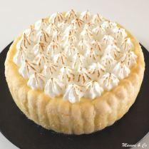 Charlotte façon tarte au citron meringué