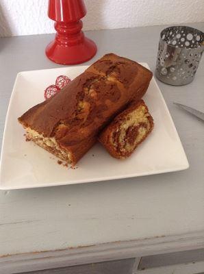 Gâteau marbré Chris