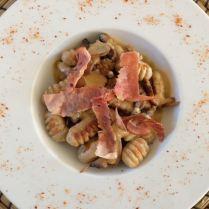 Gnocchi à la châtaigne et au foie gras