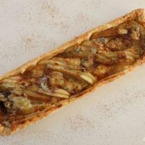 Tarte endives, poires et gorgonzola