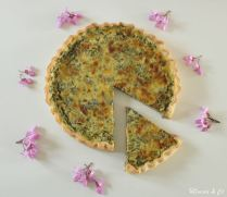 Quiche à l'oseille