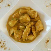 Colombo de poulet au beurre de cacahuète