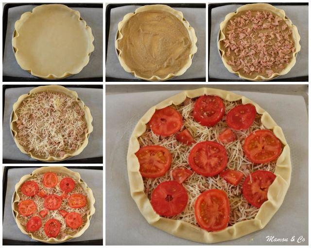 tarte rustique au thon et caviar d'aubergines_6