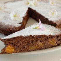 Fondant au chocolat, abricots et ricotta (sans gluten)