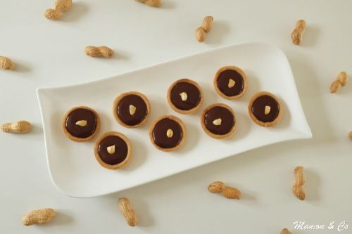 tartelettes ganache chocolat et cacahuètes_3