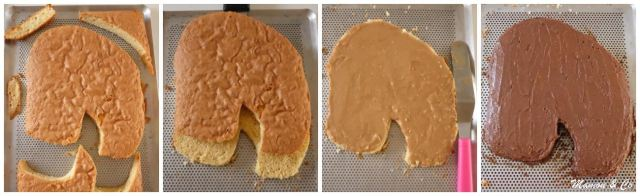 gâteau 3D Tête de cheval_2