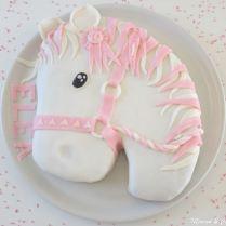 Gâteau 3D Tête de cheval