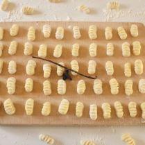 Gnocchi vanille/fève tonka