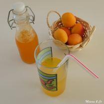 Sirop d'abricot maison
