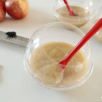 Compote pommes/bananes à la vanille et fève tonka