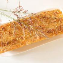 Gâteau de pommes de terre et petits légumes à l'italienne