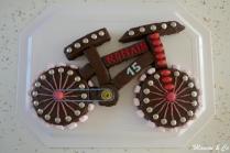 Gâteau Vélo 3D