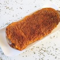 Butternut gratinée au parmesan