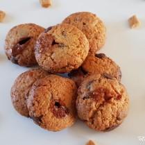 Cookies aux pépites de caramel et chocolat